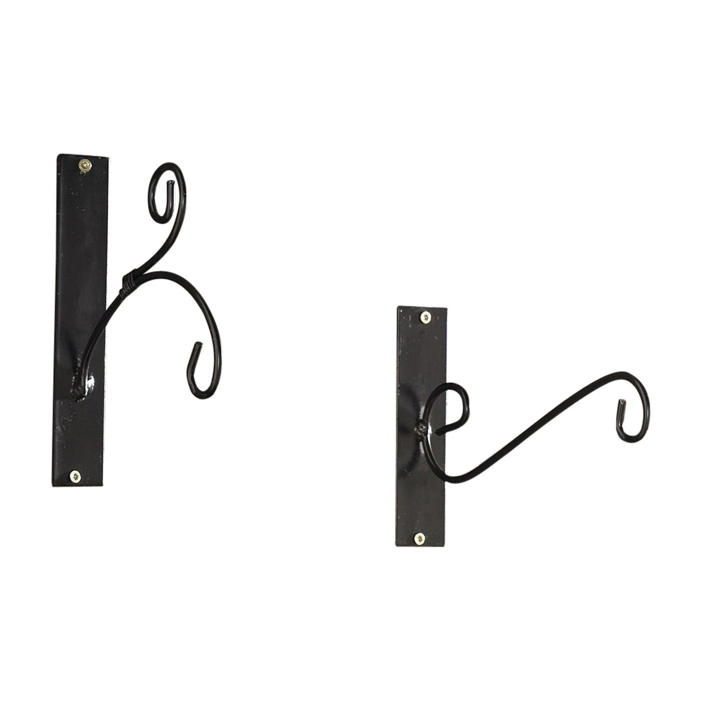 Metal Wall Hangers, Set of Two, for Lanterns,Feeders,Planters,Chimes,Ornaments Product SKU: HD221825