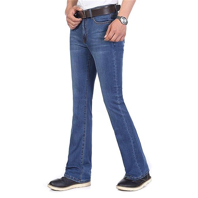 Friendshiy Men S Summer Clothing Fashion Bell Bottom Jeans