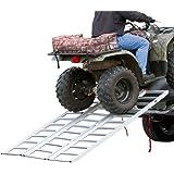 Rage Powersports TF-7754 Full Width Tri-Fold Aluminum ATV Loading Ramp (77' x 54')