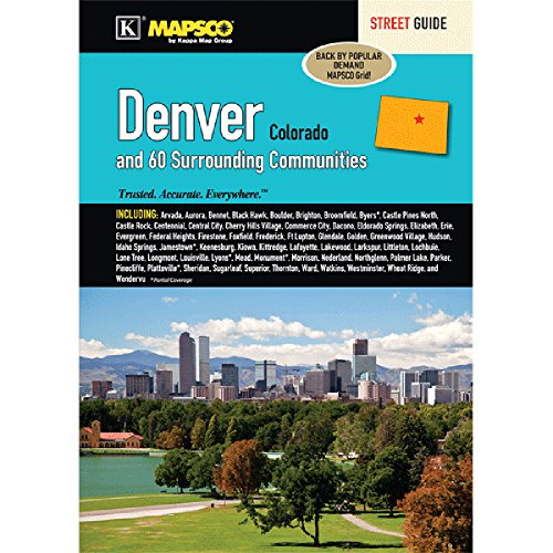Denver  Co Regional Street Guide