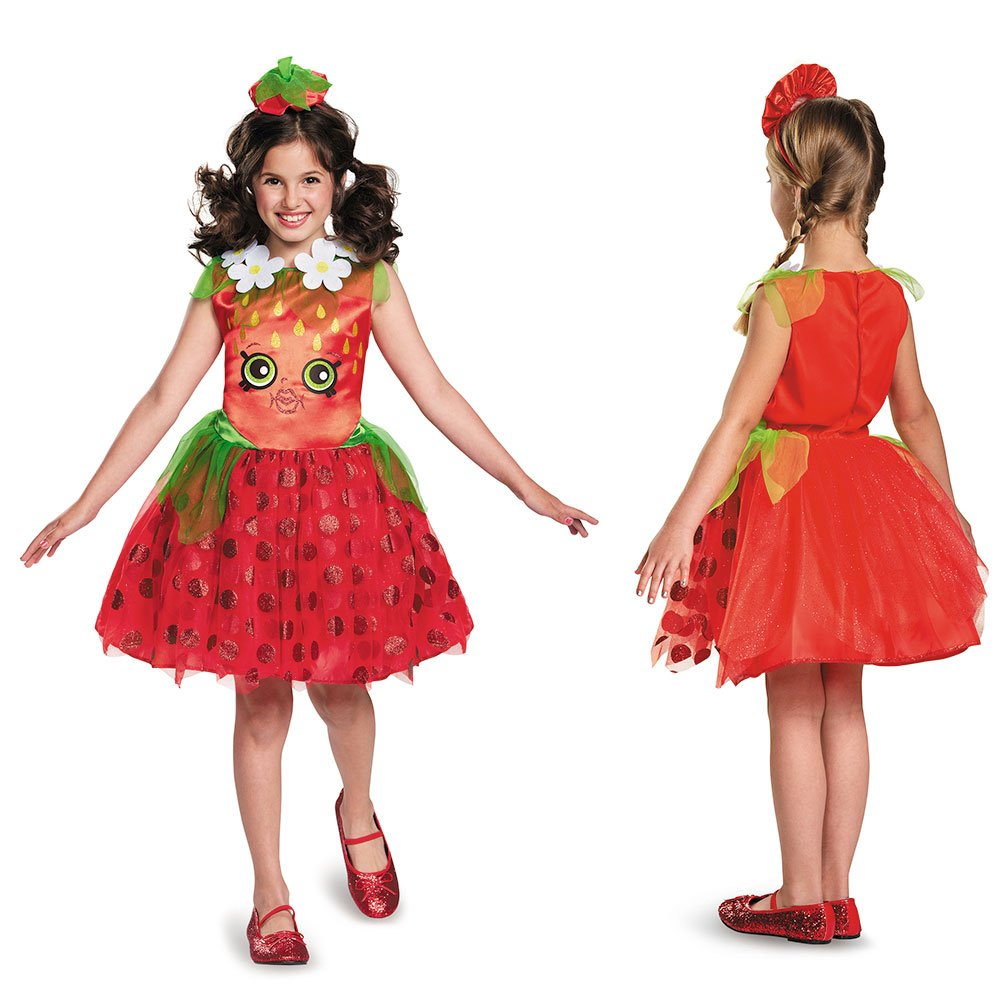 Shopkins Strawberry Classic Costume