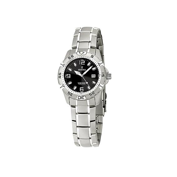 FESTINA F16172/7 - Reloj de Mujer de Cuarzo, Correa de Acero Inoxidable: Festina: Amazon.es: Relojes