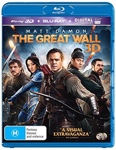 The Great Wall 3D  Blu Ray 3D Blu Ray   Region Free