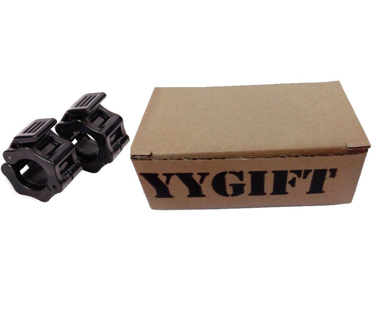 YYGIFT Bar Bell Collar 25/mm//30/mm Halt/ère fermoirs Barres dhalt/ères Barbell Fermeture Colliers pour halt/ère Longue de Barre curl Halt/ère Courte 1/Paire