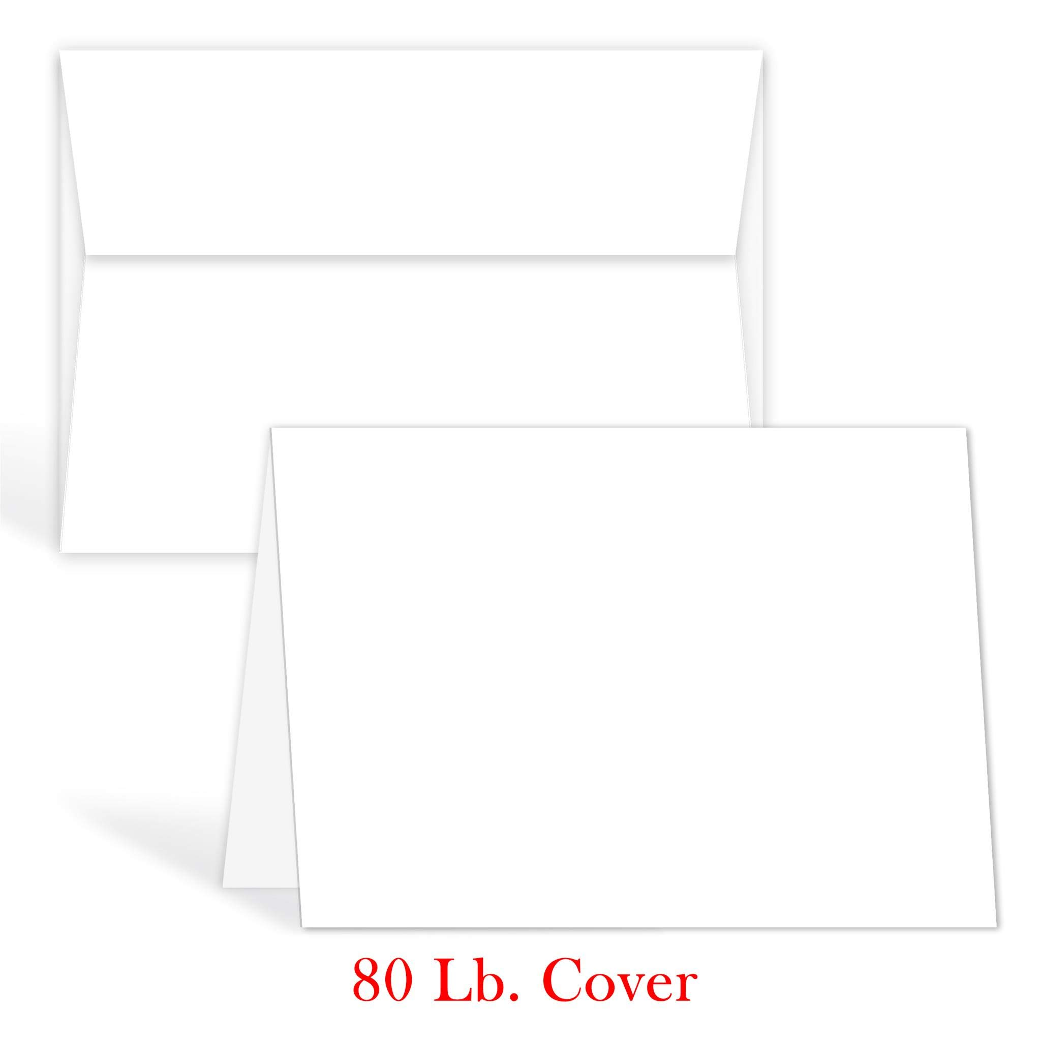 greeting cards set blank white cardstock and envelopes perfect for business invitations jpg 2048x2048 awesome avery