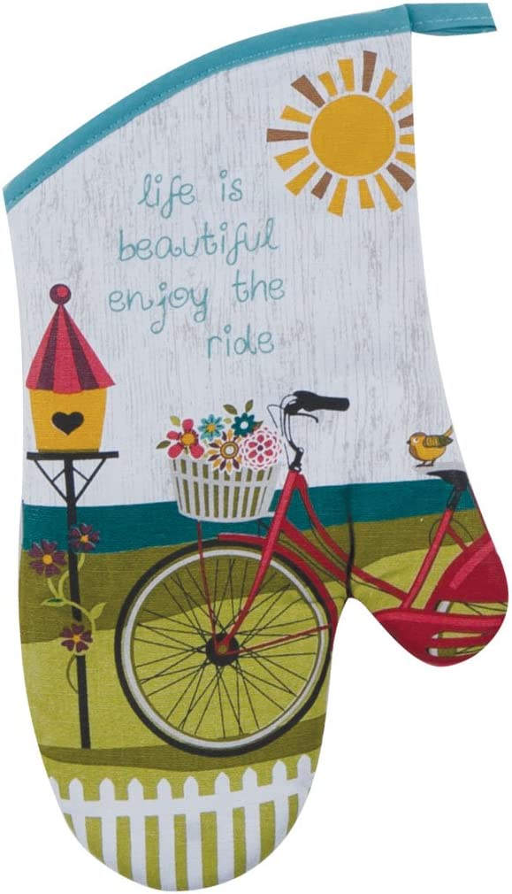 Kay Dee Designs Enjoy The Ride Bicycle Oven Mitt