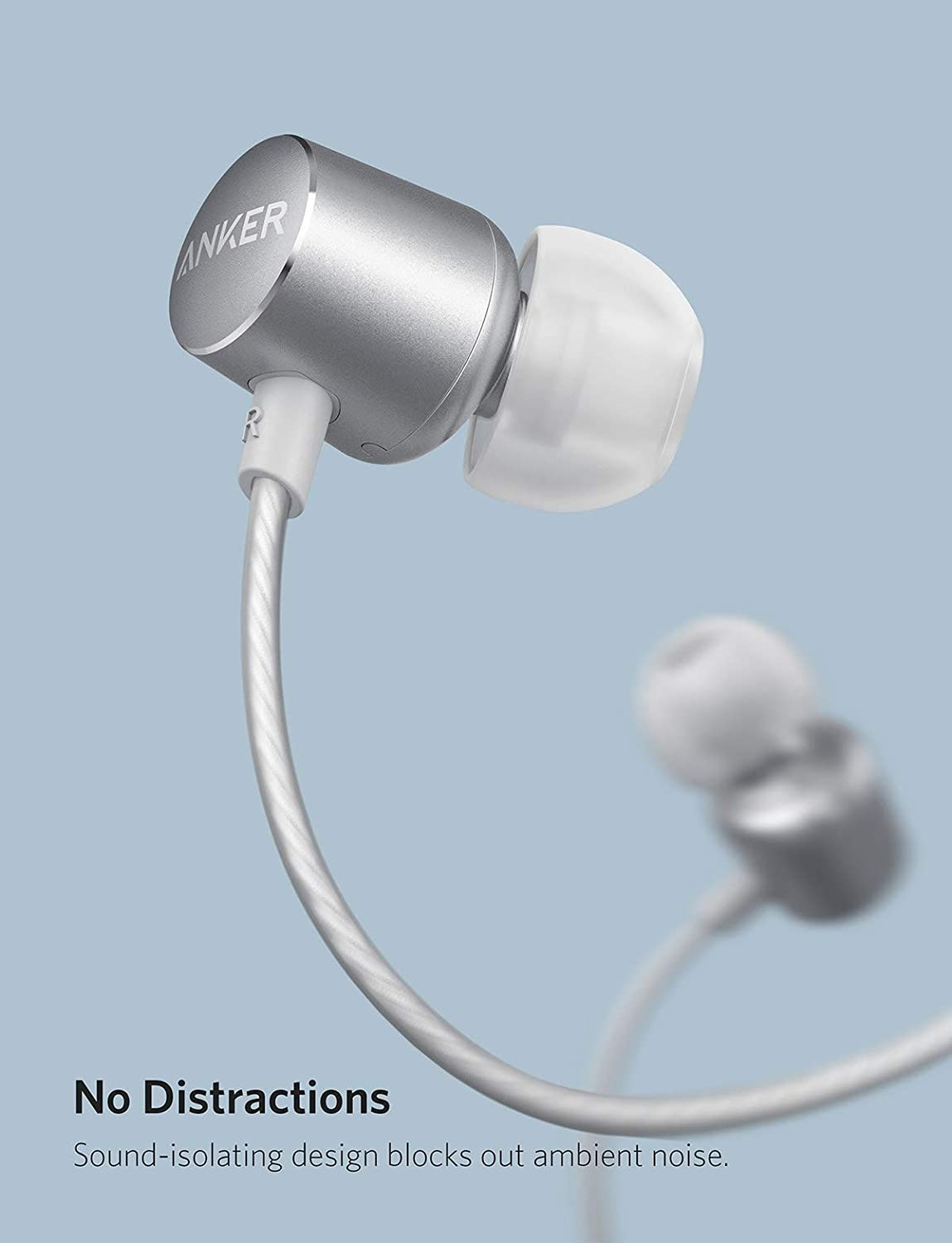 c3bbc5afd9c Anker SoundBuds Verve Earphones with Microphone, Wired: Amazon.co.uk:  Electronics