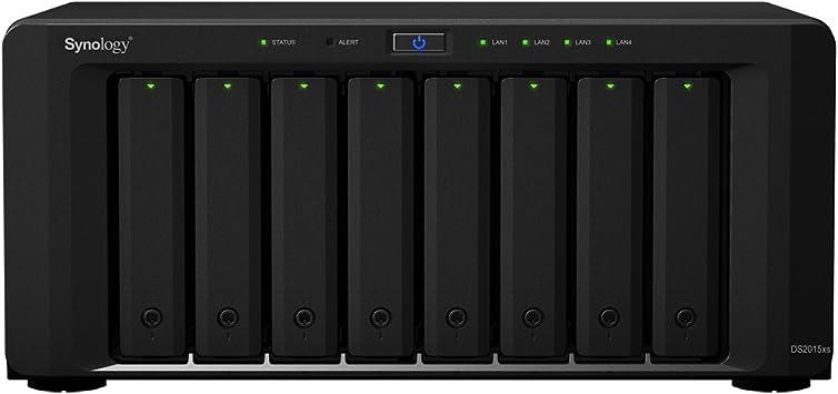 Synology DS2015XS - Servidor NAS (64 TB, USB 3.0, 1.7 GHz), negro: Amazon.es: Electrónica