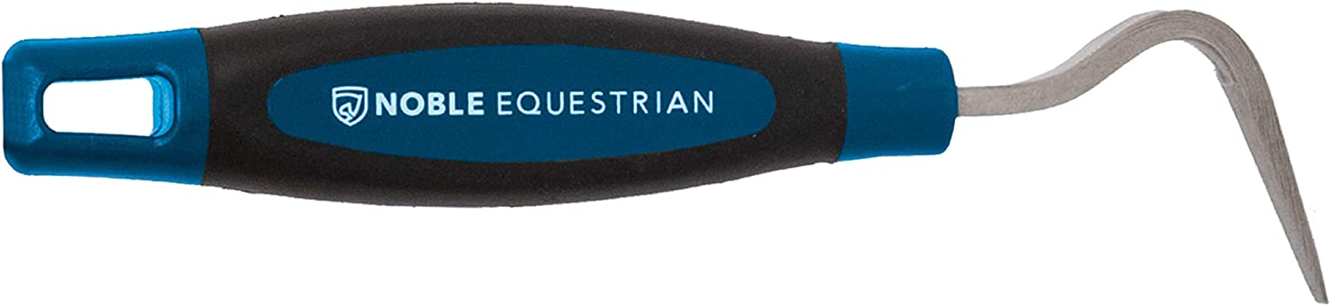 Noble Equestrian Hoof Pick Little Jack Horse Equine Stable Cleaning Deep Turquoise