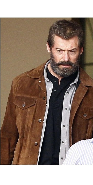 X-Men Wolverine 3 Logan Hugh Jackman Suede