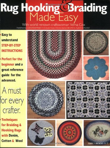 Rug Hooking & Braiding Made Easy