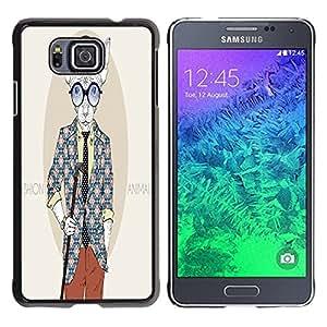 Dragon Case - FOR Samsung ALPHA G850 - ?depends on your dreams - Caja protectora de pl??stico duro de la cubierta Dise?¡Ào Slim Fit