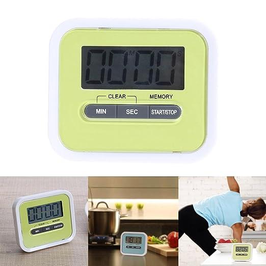 AnySell - Reloj digital magnético para cocina, temporizador ...