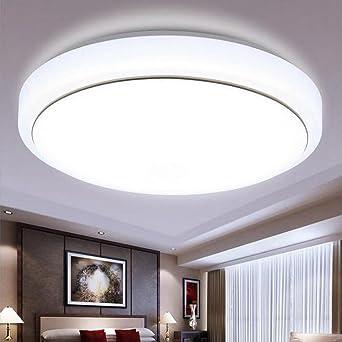 BiuTeFang LED Deckenleuchte Flur Flurleuchte aus Acryl rund ...
