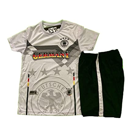super cute 7a764 cb12a Amazon.com : Rass Germany National Soccer Team Kids- Boys ...
