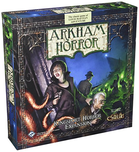 Juegos de vuelo de fantasía Arkham Horror: Kingsport Horror Expansion