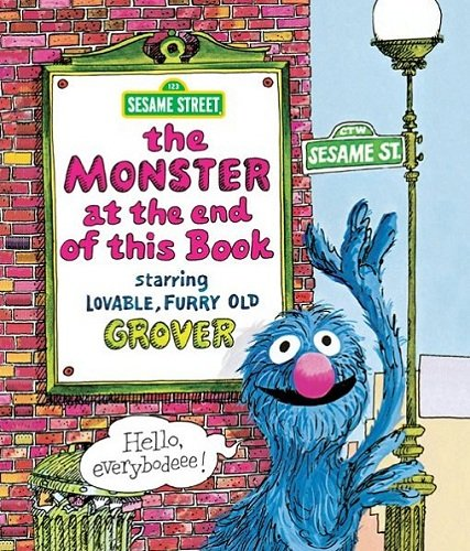 Monster at the End of This Book, The (Sesame -