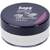 Kaps Crema Reparadora Y Renovadora Para Zapatos De Cuero Liso, Bolsas, Asientos, Reparador De Arañazos Y Rasguños…