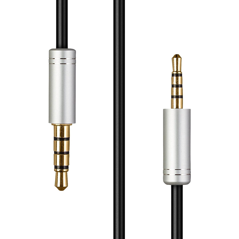 K840KL Audio Upgrade HIFI est/éreo de 4 pies K845BT Y55 Y50 Cable de repuesto para auriculares AKG Y45BT Y40