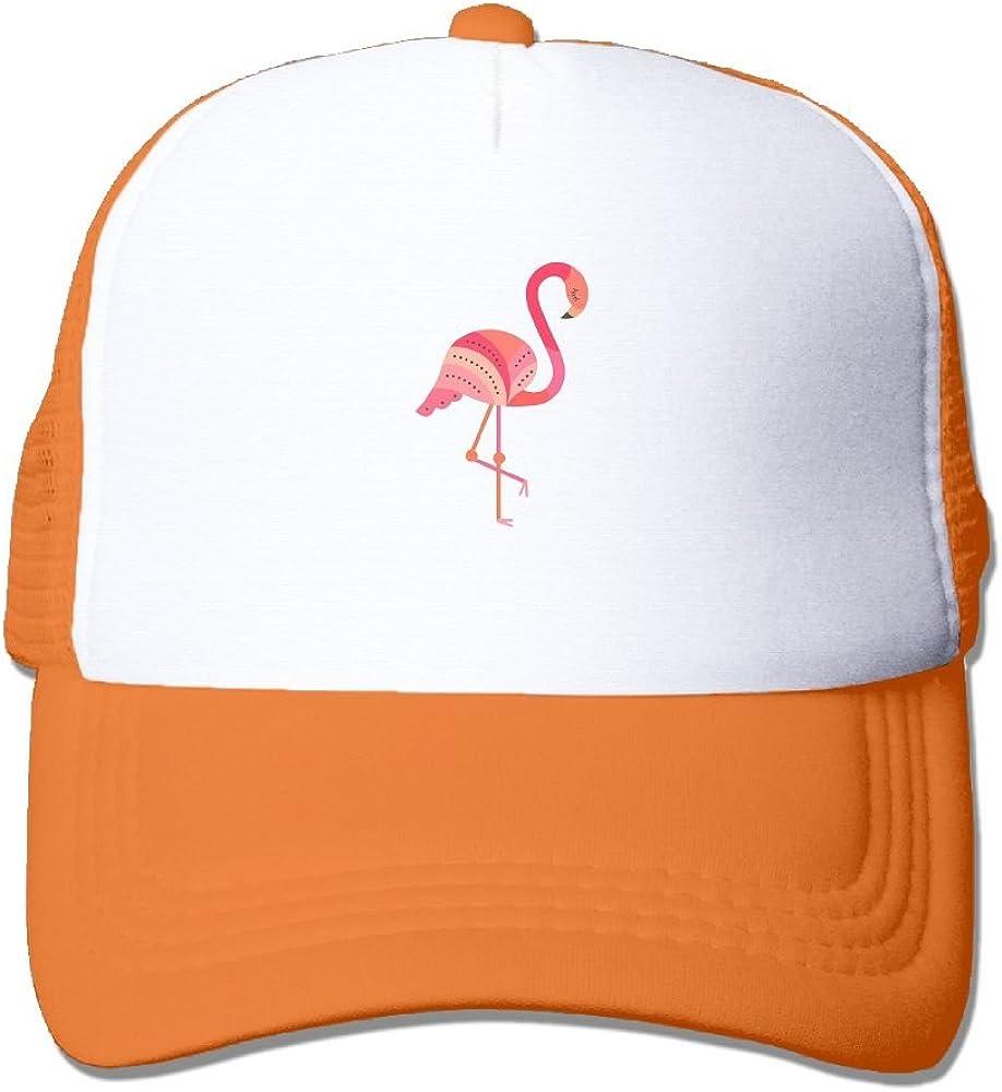 FeiTian Flamingo Animal Sized Baseball Caps For Teen Girls Casual Great For Outdoor Climbing Trucker Hat