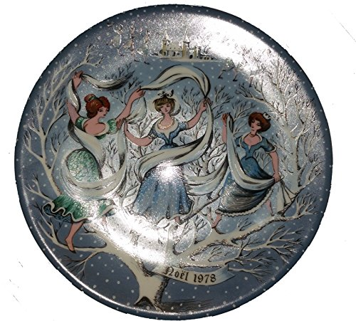 Haviland Limoges Twelve Days of Christmas - Nine Ladies Dancing Collector Plate by Artist Rémy Hétreau