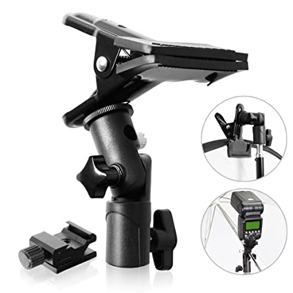 Consumer Electronics Photographic Clamp Clip With Hotshoe Mount Table Mini Stand Holder For Flash Speedlite Background Photographic Ligting