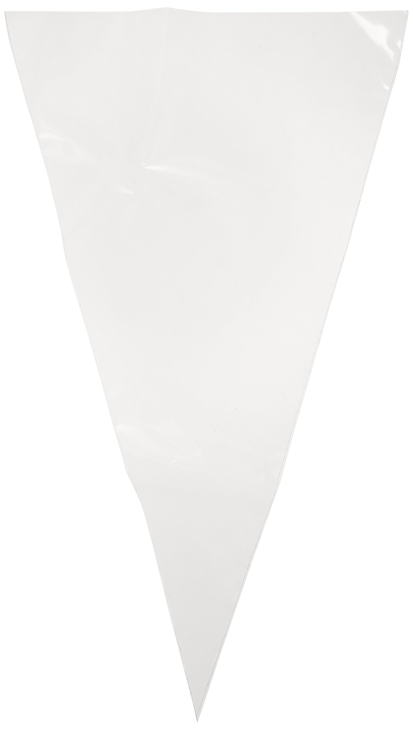 Ateco 468 Clear Disposable Decorating Bags, 18-Inch, Pack of 10, Extra Strong, Made in USA