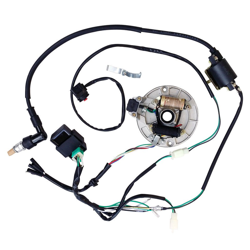 Amazon.com: ALL ELECTRICS Kick Start 50-110 125CC 140 WIRE HARNESS on cdi installation diagram, cdi ignition diagram, suzuki cdi diagram, scooter cdi diagram, kill switch diagram, 5 pin cdi wire diagram, five wire cdi diagram, cdi tester diagram,