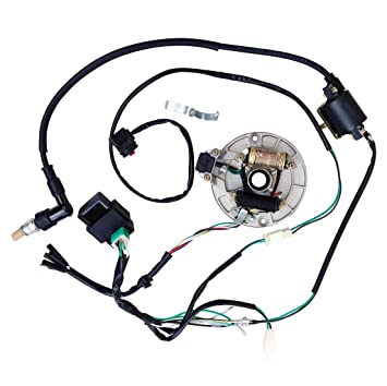 amazon com all electrics kick start 50 110 125cc 140 wire harness Wiring Harness 93A050059