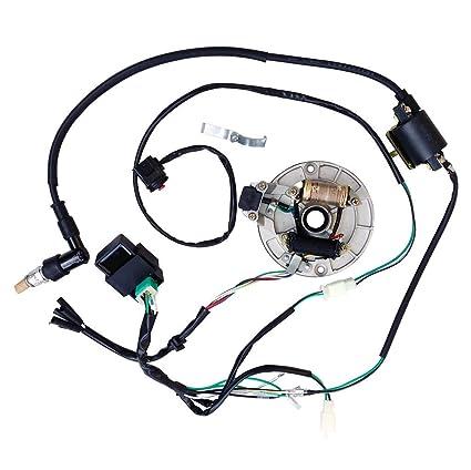 All Electrics Kick Start 50 110 125cc 140 Wire Harness Cdi Coil