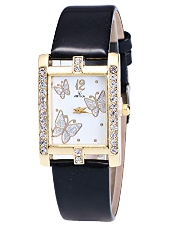 Amazon.com: Mariposa Relojes para las mujeres, cooki Analog ...