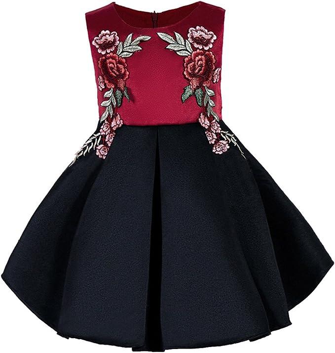 Vestiti Cerimonia Desigual.Vestito Bambina Rosso Nero Abito Cerimonia Carnevale Desigual