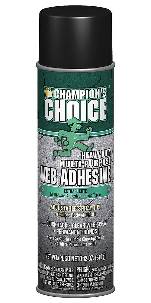 Champion 5163 Heavy-Duty Multi-Purpose Web Adhesive, 12 oz Aerosol (Pack of 12)
