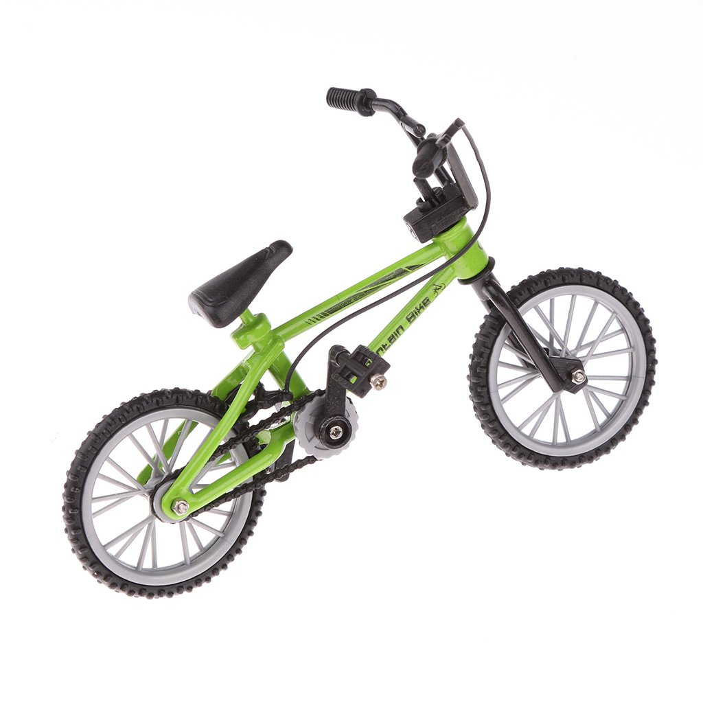Finger Mountain Bike BMX Fixie Bicycle Creative Toy Gift- Green Generic