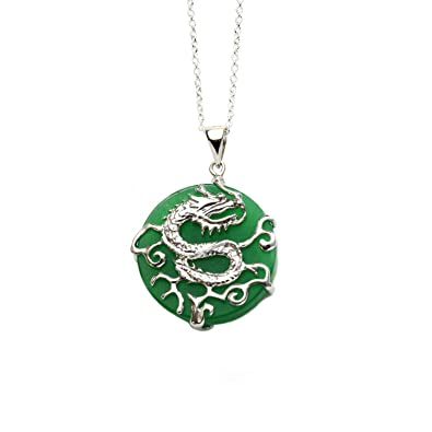 teardrop gold index necklace jewelry green kingdom dark pendant jade karat