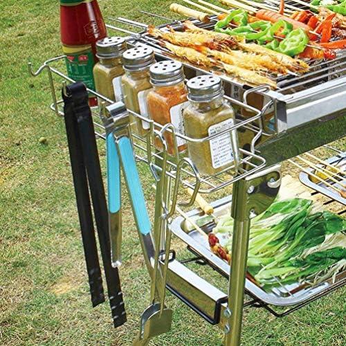 Wghz Épice Étagère Suspendue Cuisine Organisateur Panier Assaisonnement Suspendu Rack De Stockage dans Placard Cuisine Pantry Affichage Bouteilles Bocaux