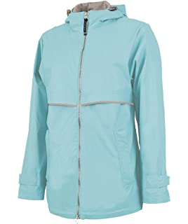 9b859d83149 Personalized Charles River Apparel Monogrammed Women s New Englander Rain  Jacket