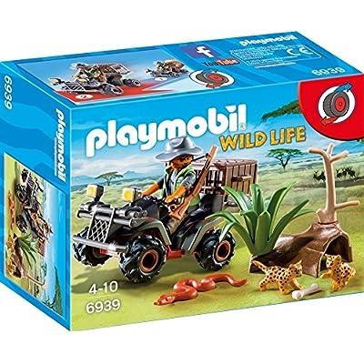 Playmobil 4228 - Pick-up et quad de course rouge