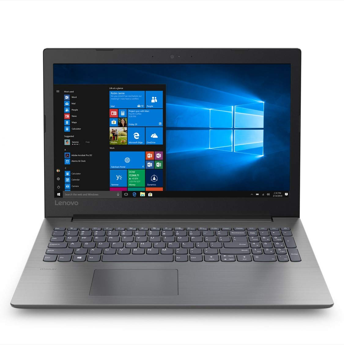 Lenovo Ideapad 330 Intel Core i3 7th Gen 15.6-inch FHD Laptop (4GB/1TB HDD/Windows 10 Home/Onyx Black/ 2.2kg), 81DE01K2IN