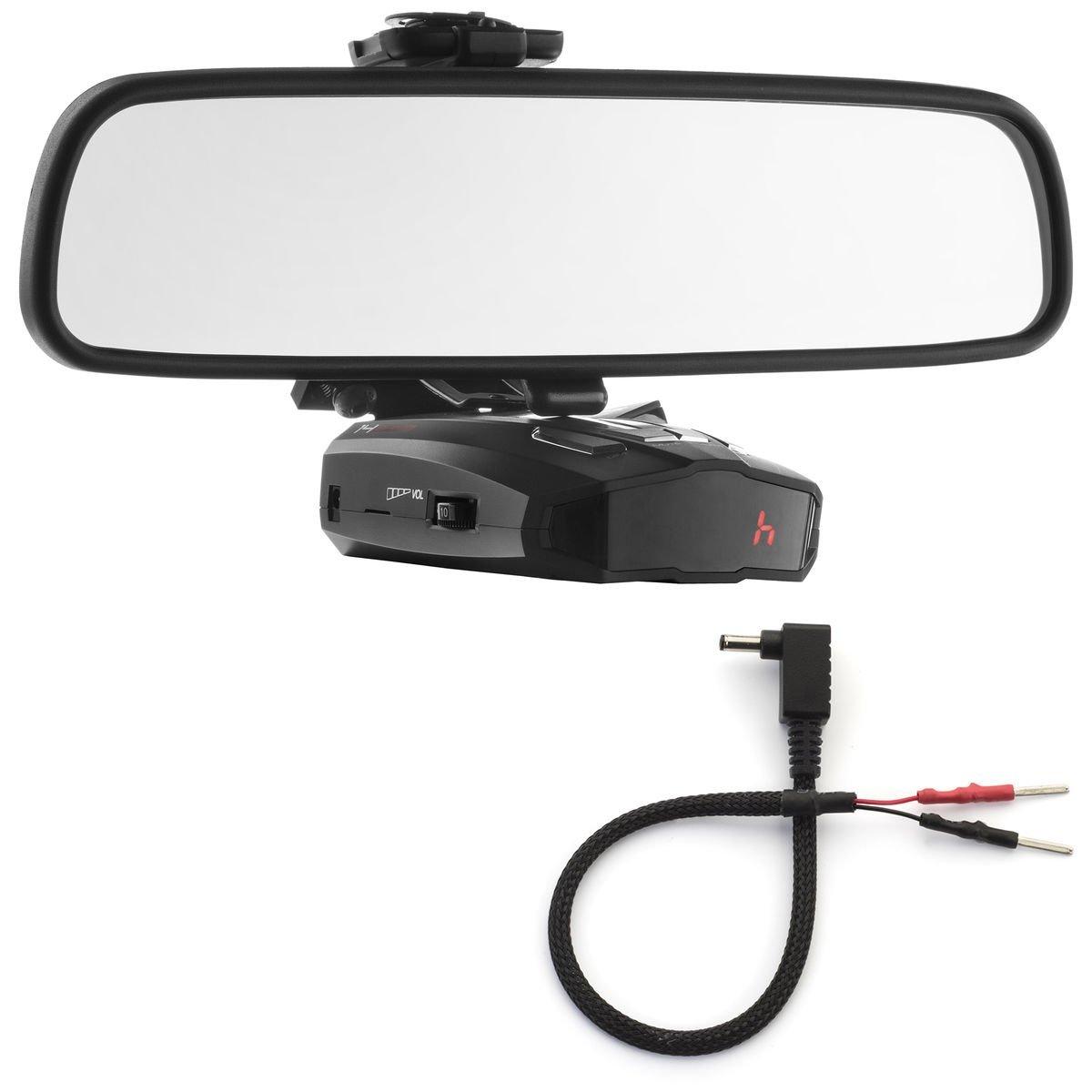 PerformancePackage espejo pantalla plana soporte de Radar Detector + Espejo Cable de alambre – Cobra Xrs ESD Vedetta: Amazon.es: Electrónica