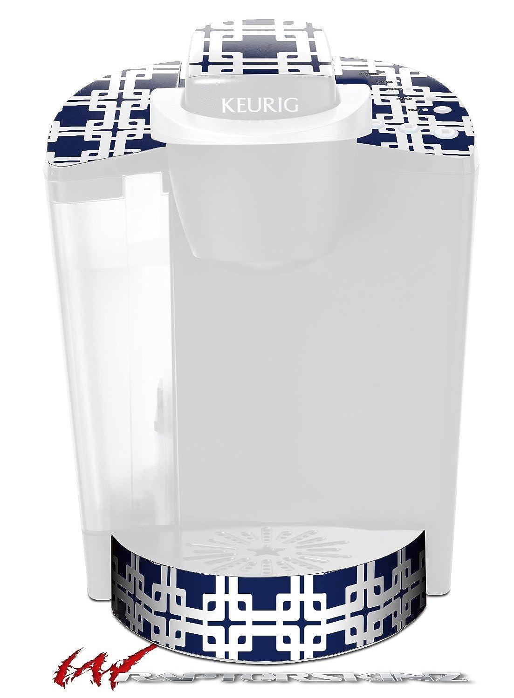 Boxed Navy Blue – DecalスタイルビニールスキンFits Keurig k40 Eliteコーヒーメーカー( Keurig Not Included )   B017AKEJRM
