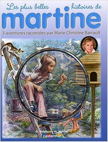 Martine Livres Cd Une Famille Epatante Livre Cd French