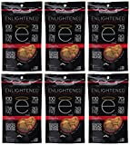 Enlightened Plant Protein Gluten Free Roasted Broad (Fava) Bean Snacks, Sriracha, 3.5 Ounce (Pack of 6)