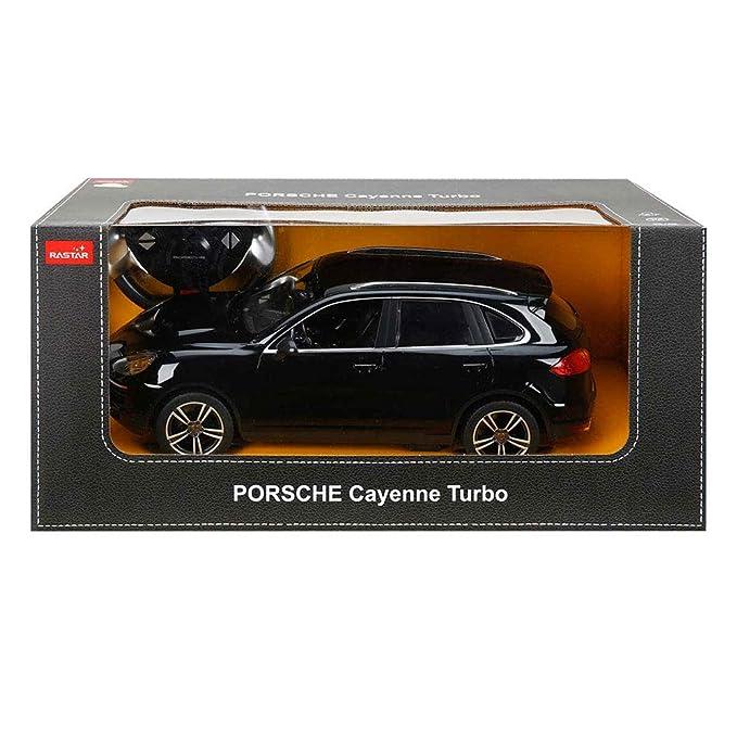 1/14 Scale Radio Remote Control Porsche Cayenne Turbo SUV RC Car R/C RTR  (Black)
