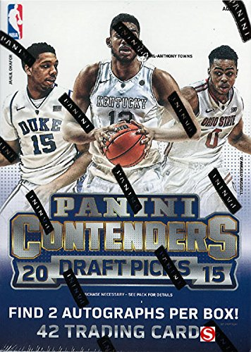 2015 Panini Contenders Basketball Draft Picks Blaster Box with 2 Autographs Per Box -