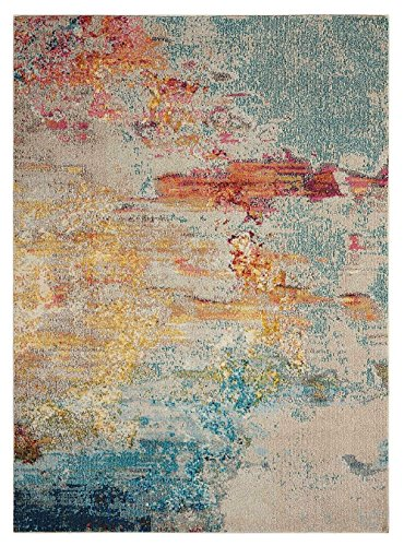 Nourison Contemporary Rectangle Area Rug 7'10