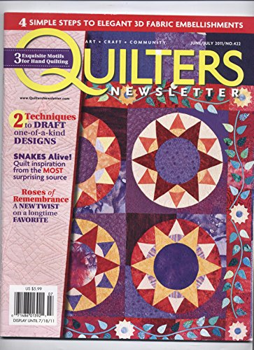 Quilters Newsletter (June/July 2011, No. 422)
