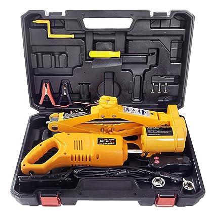 Amazon Com Captiankn Car Jack Kit 2 Ton Load Bearing 12v Electric