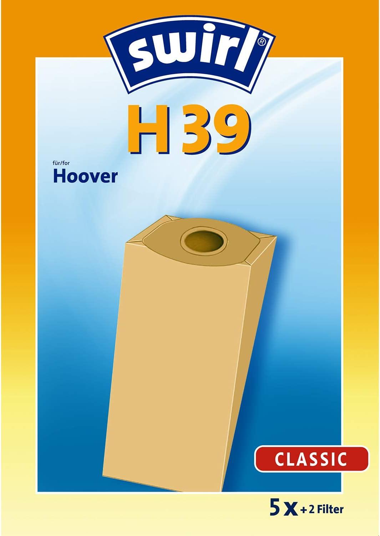 Swirl H 39 - Set para aspirador (5 bolsas y 2 filtros): Amazon.es ...