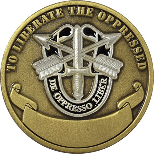 United States Army Special Forces Airborne Challenge Coin